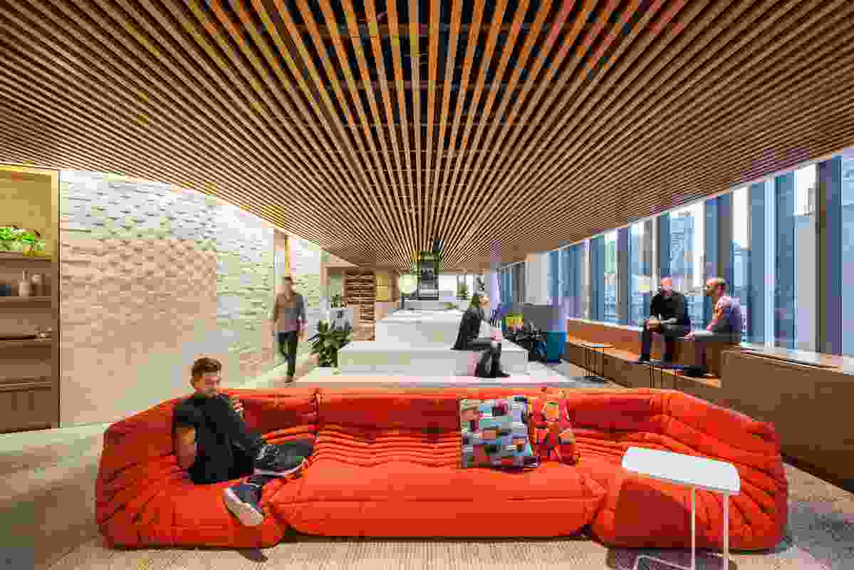Dropbox Sydney by Gensler.