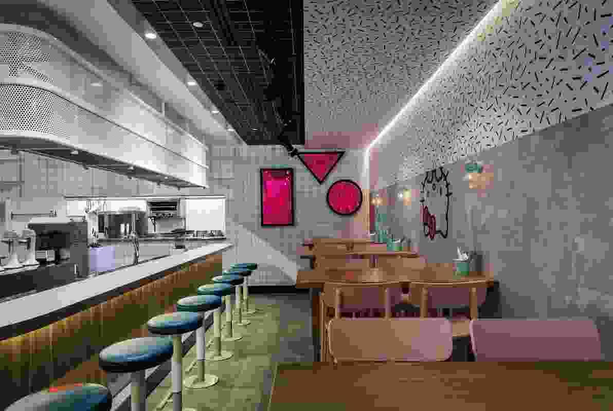 Hello Kitty Diner by Luchetti Krelle