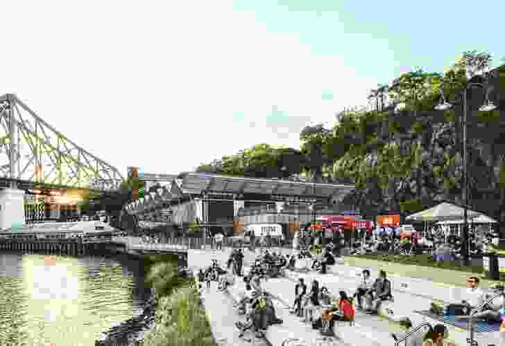 Howard Smith Wharves by HSW Nominees, Urbis and Woods Bagot
