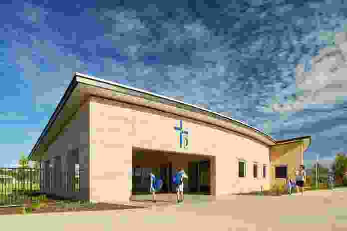 Mother Teresa Catholic College by Parry and Rosenthal Architects.