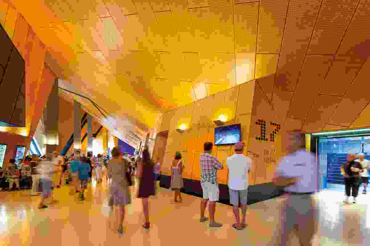 Perth Arena by ARM Architecture and Cameron Chisholm Nicol Joint Venture Partners.