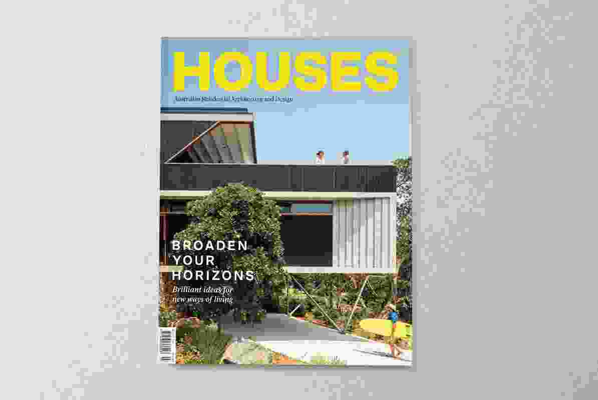 Houses 134. Cover project: Breezeway House by David Boyle Architect.