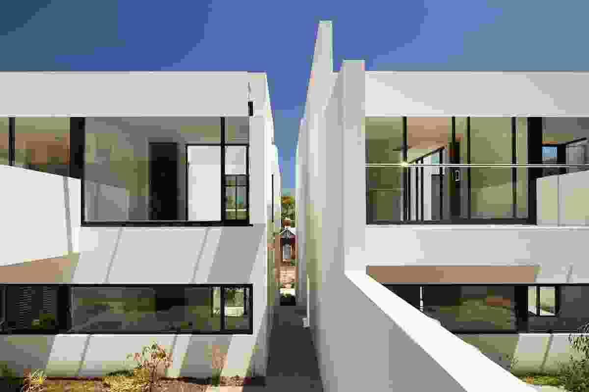Terrace Houses in Fremantle by Blane Brackenridge.
