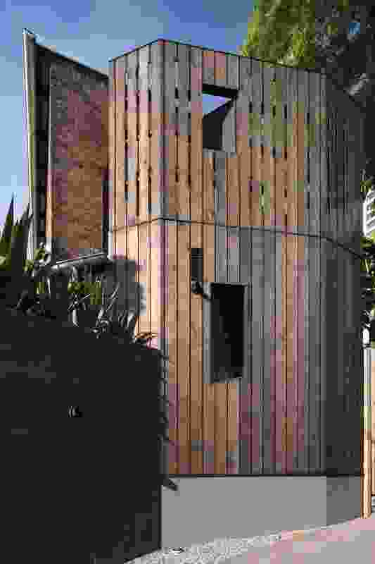 2013 entry, Residential Architecture: Shutter House by Louise Nettleton Architects.