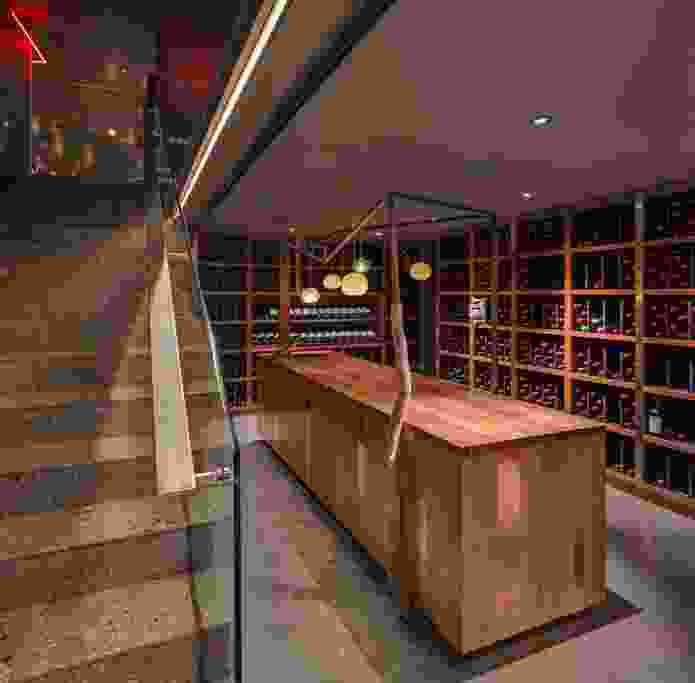 The downstairs cellar at Penfolds Magill Estate Restaurant.