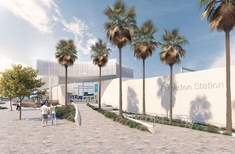 Refreshed design for Frankston station as construction begins