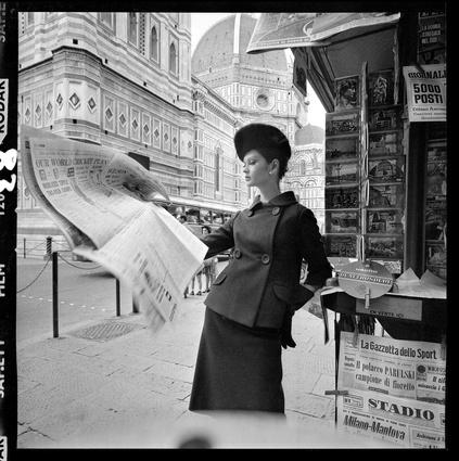 Ballarat Foto Biennale: Brian Duffy for <em>Vogue</em>, Florence, 1964.