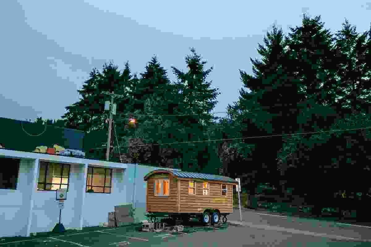 Ben's tiny house.