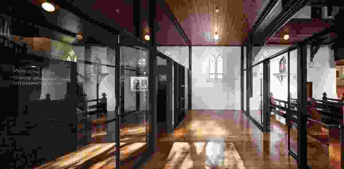 Interpretive Centre - Good Shepherd Chapel, Abbotsford by Robert Simeoni Architects.