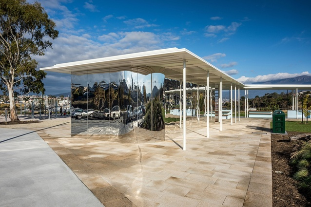 Kangaroo Bay Pavilion by Preston Lane.