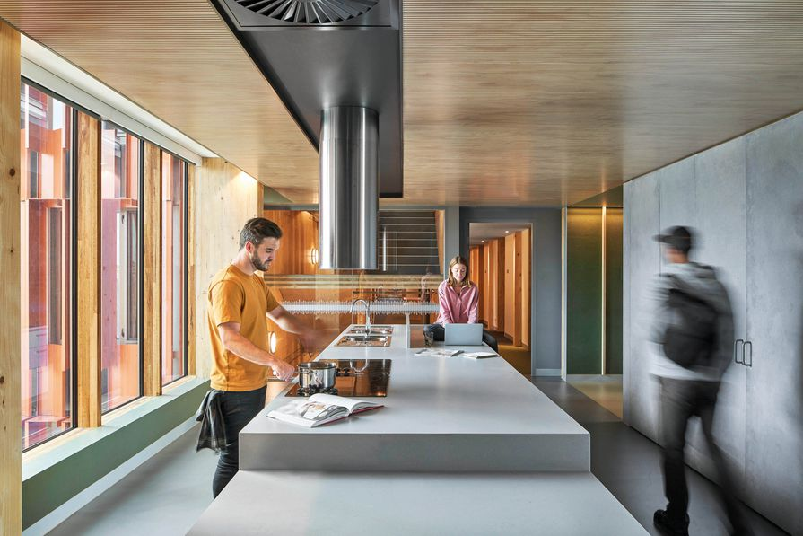Gillies Hall by Jackson Clements Burrows Architects.