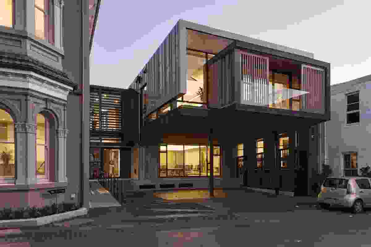 Commercial Architecture category finalist: Allendale Annexe (Auckland) by Salmond Reed Architects.