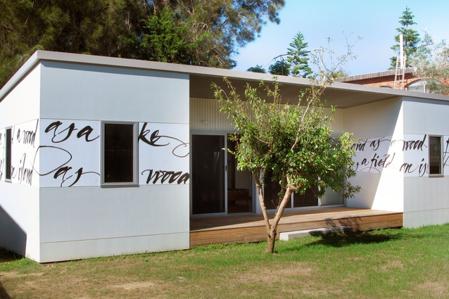 Potato Point House by Joanna Nelson Architect received the 2012 Malcolm Moir and Heather Sutherland Award for Residential Architecture – Houses.