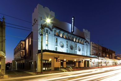 The Majestic Theatre building has been modified many times.