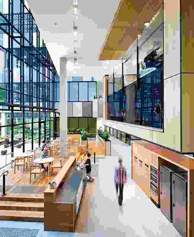 Colour in Commercial Design – Ecoscience Precinct by Hassell.