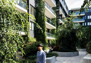 Eve Apartments by DKO Architecture. Landscape architecture by 360 Degrees.