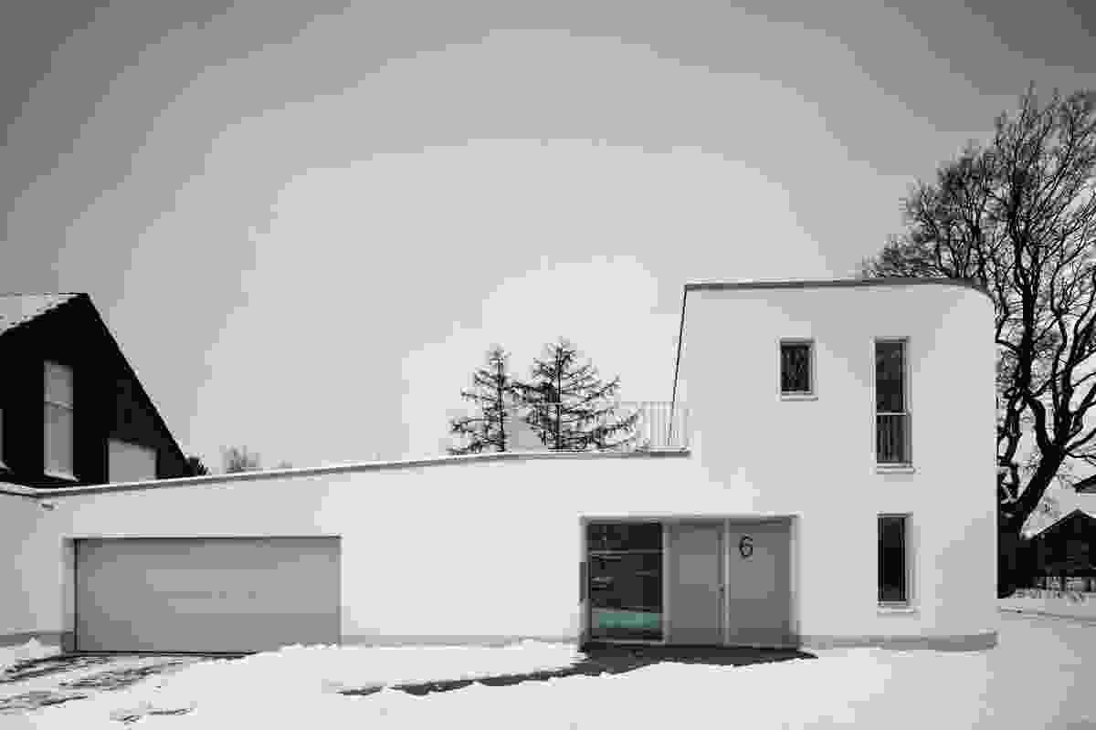 HouseP, MÜnster, Germany, 2012 by Bolles + Wilson.