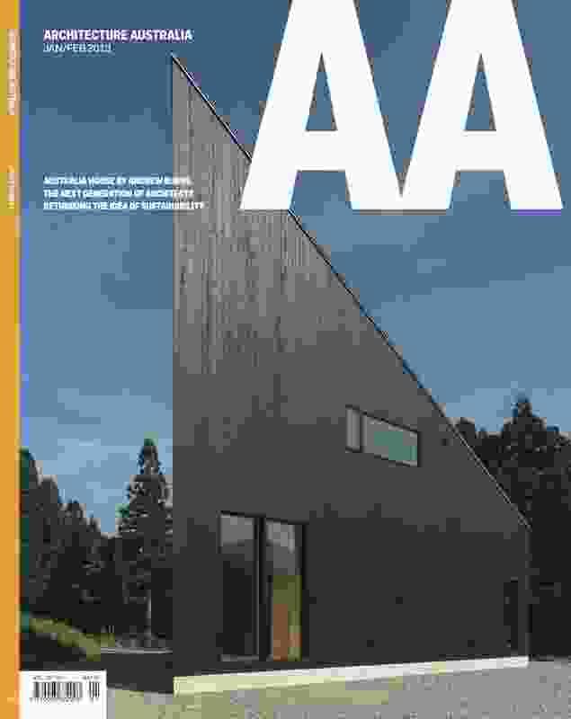 Architecture Australia Jan/Feb 2013.