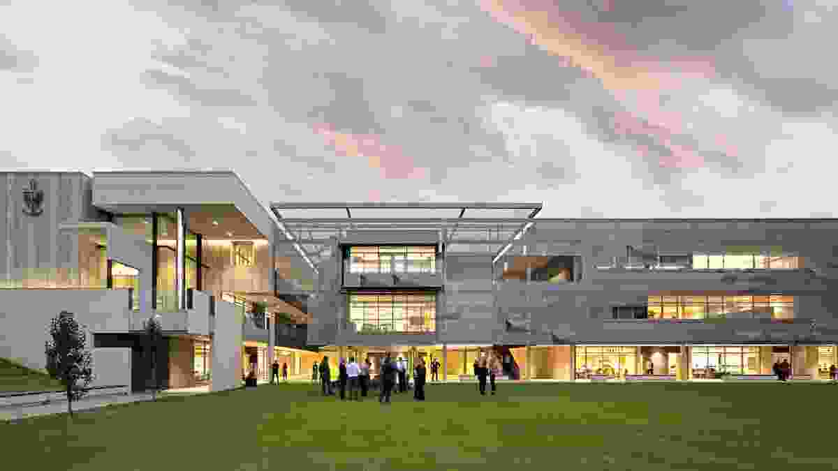 Christ Church Grammar Preparatory School by With Architecture Studio.