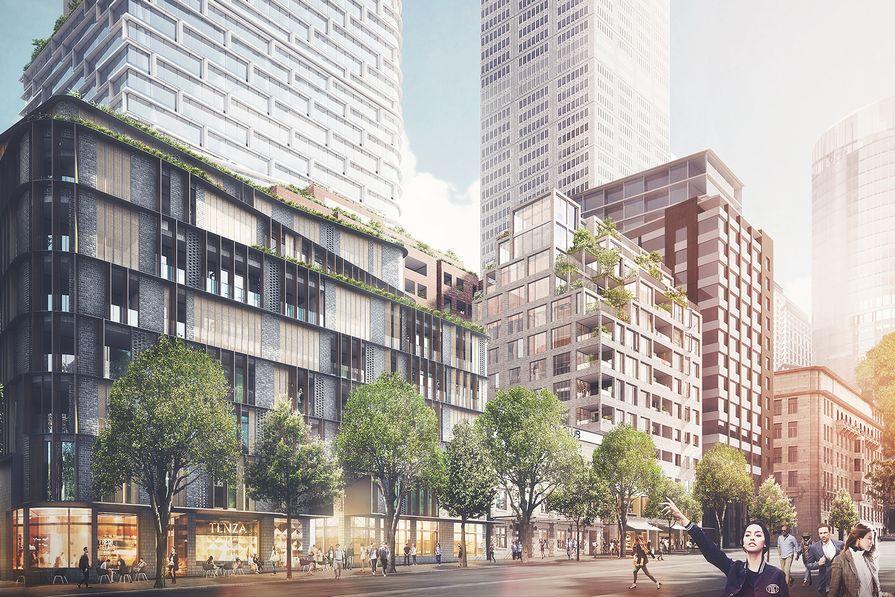 Quay Quarter Sydney by Urbis Pty Ltd and AMP Capital.