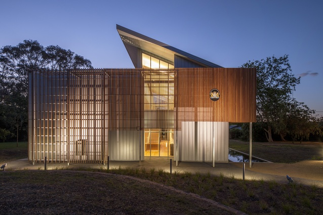 Embassy of the Kingdom of by Netherlands – Philip Leeson Architects.