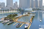 ARM designs proposal for floating pool in Perth's Swan River