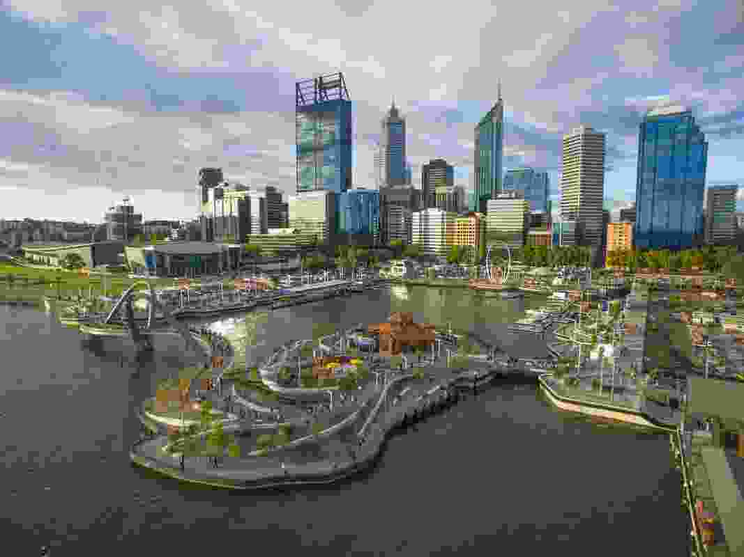 Elizabeth Quay by ARM with TCL.