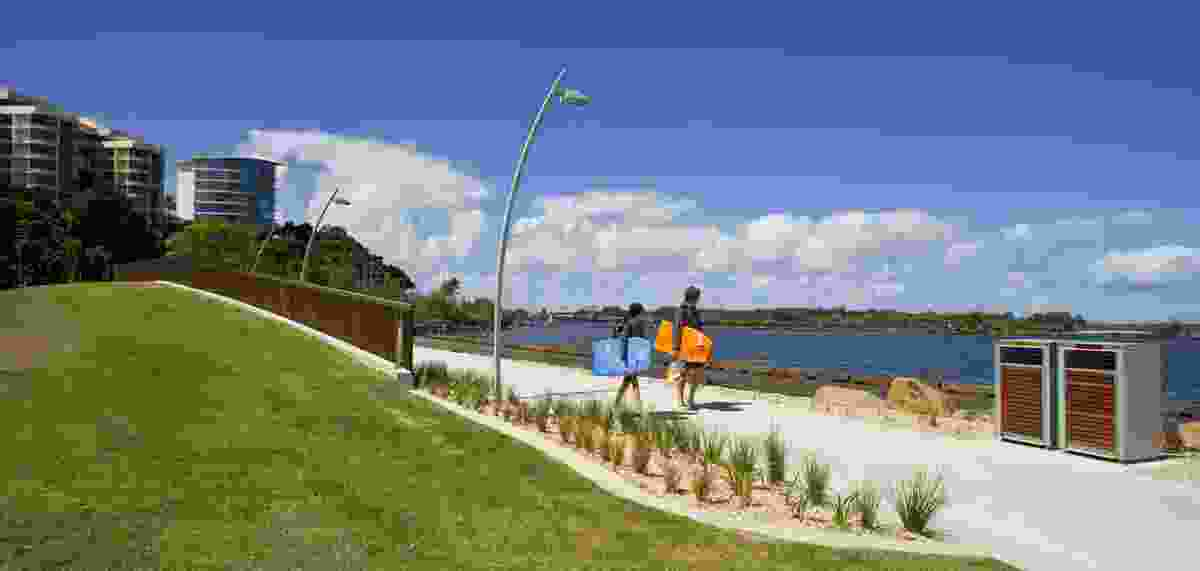 Promenade and Story Wall.