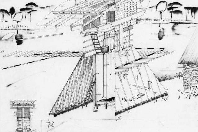 Clandeboye Artists Pavilion, 1984.