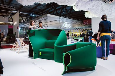 Milan International Furniture Fair, 2011.
