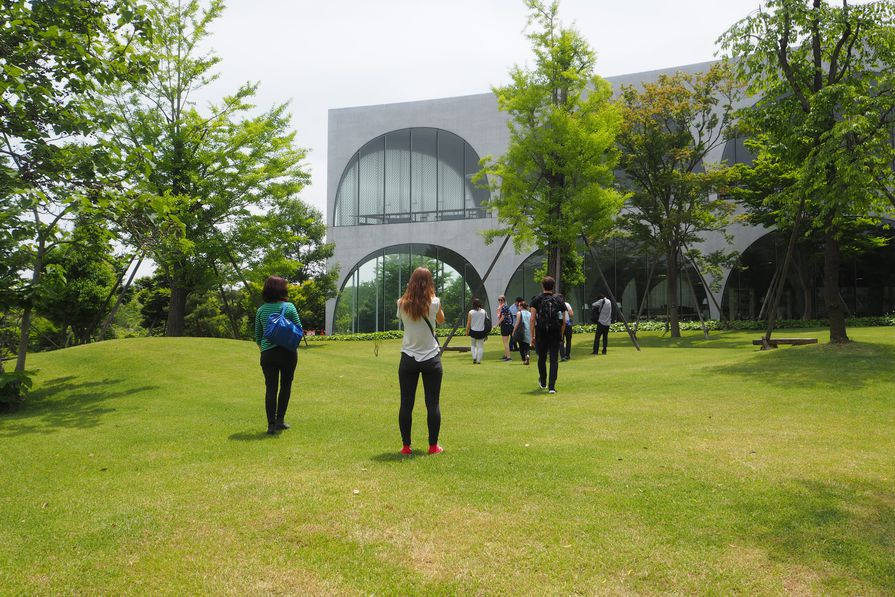 Tama Art University Library by Toyo Ito and Associates.