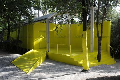 The current Australian Pavilion designed by Philip Cox.