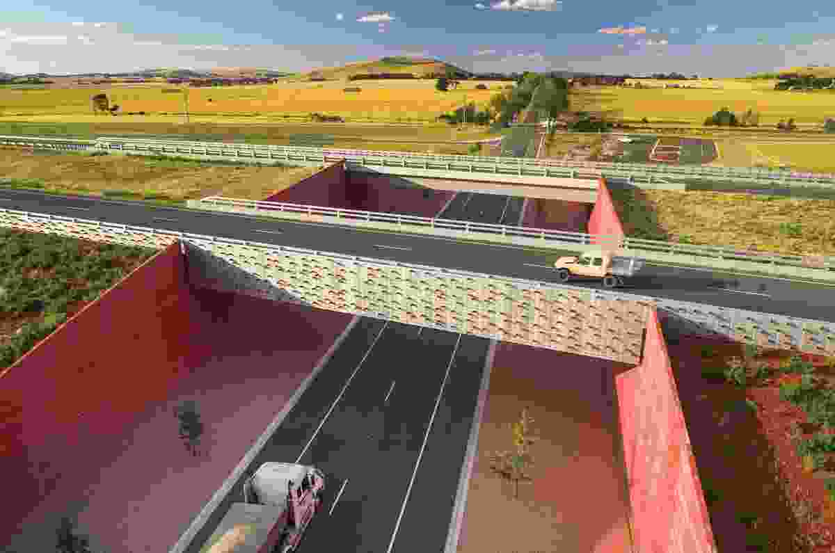 Rememberance Drive Interchange by Oculus, Ballarat, Victoria, Australia.