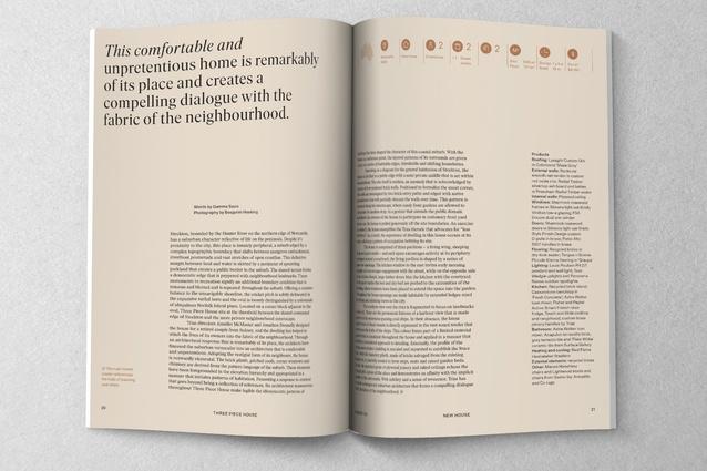 <I>Houses</I> magazine's fresh new look, designed by Janine Wurfel of Studio Metrik.