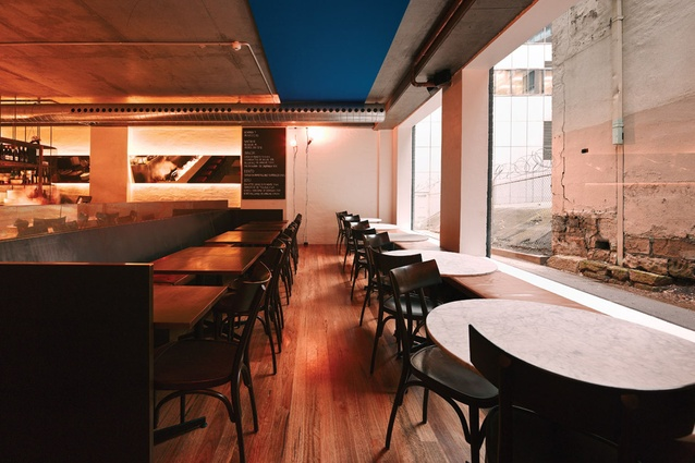 Berta Restaurant and Bar by Anthony Gill Architects.