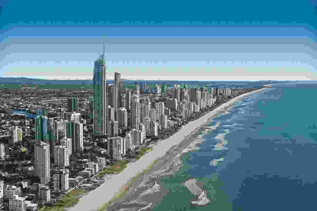Rapid population growth is driving the Gold Coast economy, making it a 'gaining' city.