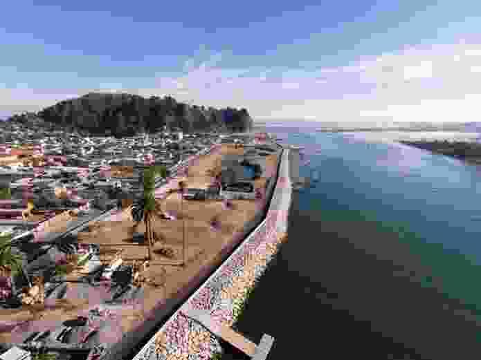 Post-Tsunami Sustainable Reconstruction Plan of Constitución, 2010 - ongoing, Constitución, Chile.