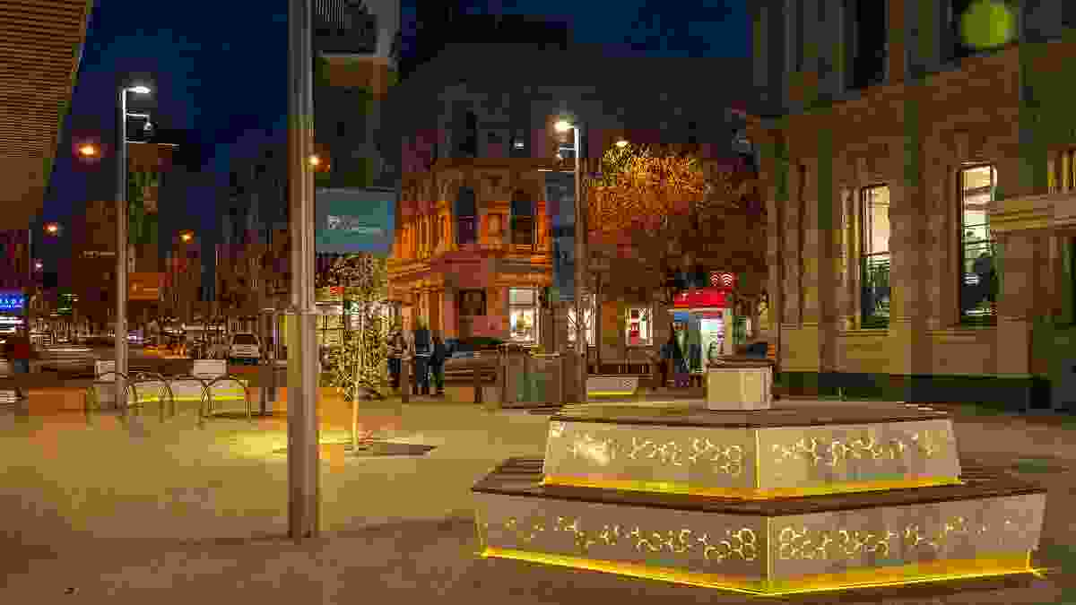Brisbane Street Mall redevelopment by Aspect Studios and City of Launceston