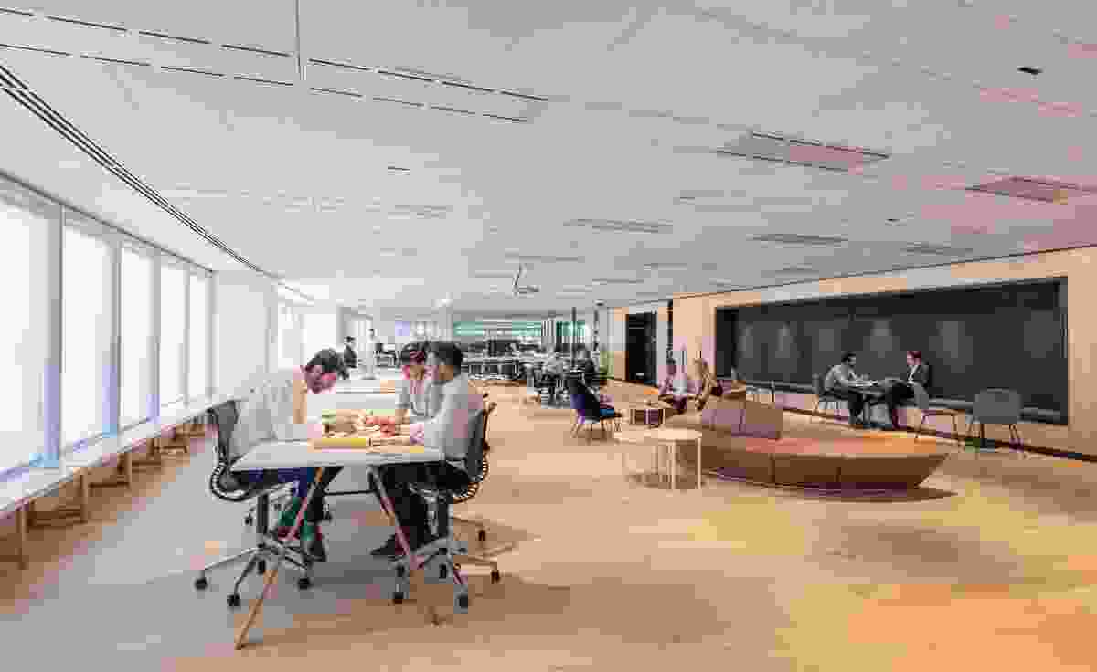 PTW Office Fitout by PTW Architects.