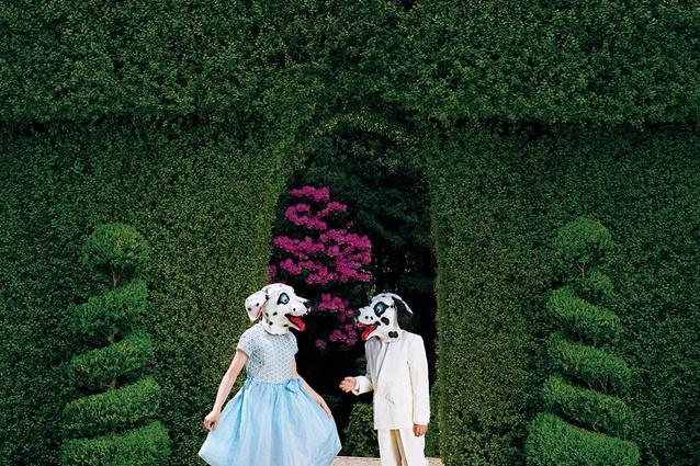 <em>The Debutants from Between Worlds</em>, 2009, pigment ink print, 105 × 105 cm, edition of 8.