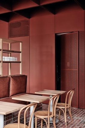 Bentwood Cafe by Ritz and Ghougassian.