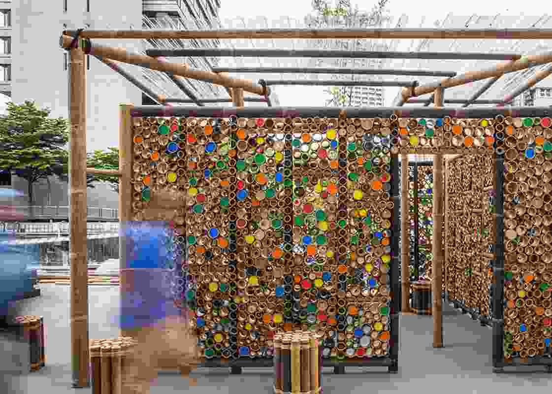 WUF09KL Bamboo Pavilion by Eleena Jamil Architect