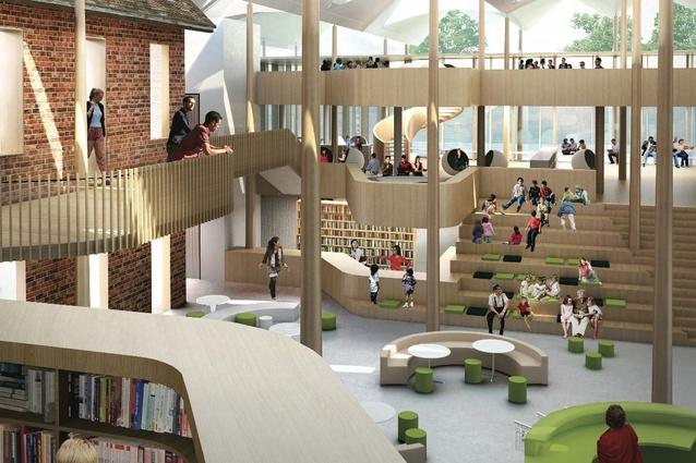 Shortlist For Marrickville Library Design
