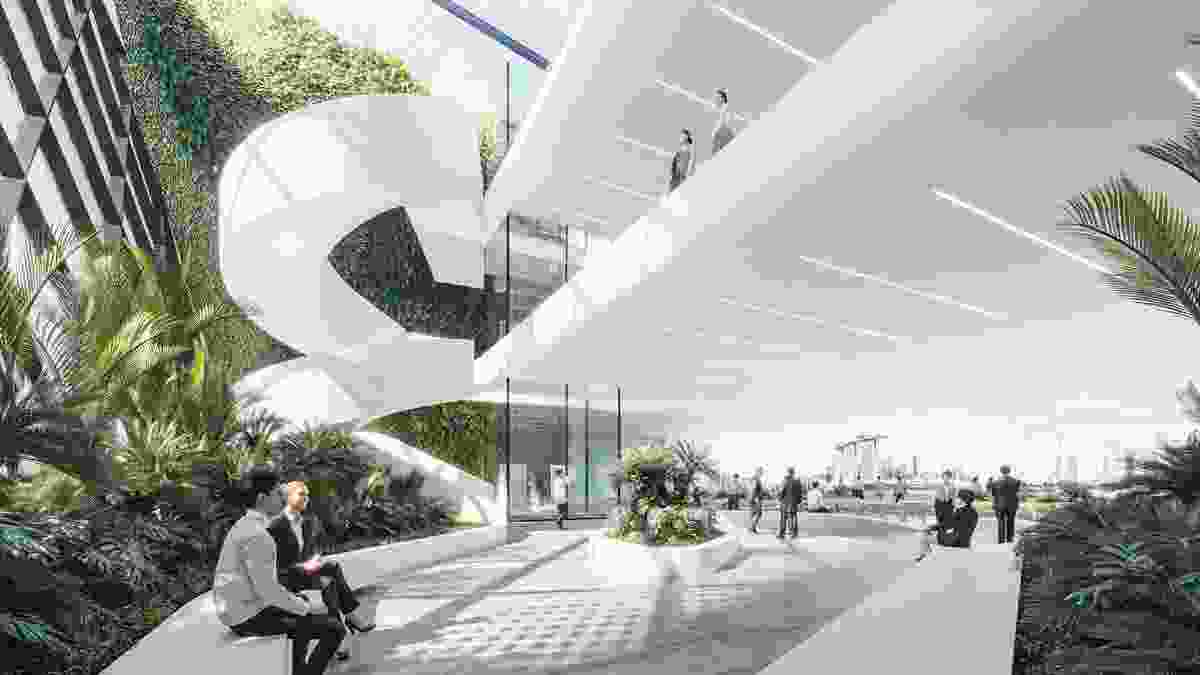 Singapore Founders Memorial proposal by Cox Architecture and Architects 61.