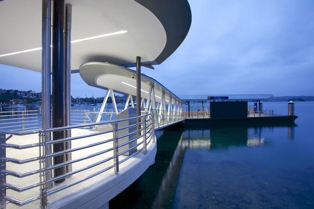 Sydney Ferry Wharves by Group GSA.