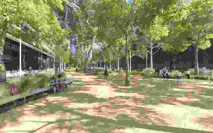 A current project that the City Design and Projects team is working on is the redesign of Southbank Boulevard to provide more public open space in one of the densest areas in Melbourne.
