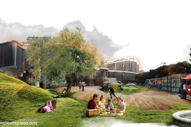 Disaster resilient parks scheme wins landscape for Landscape architects wellington