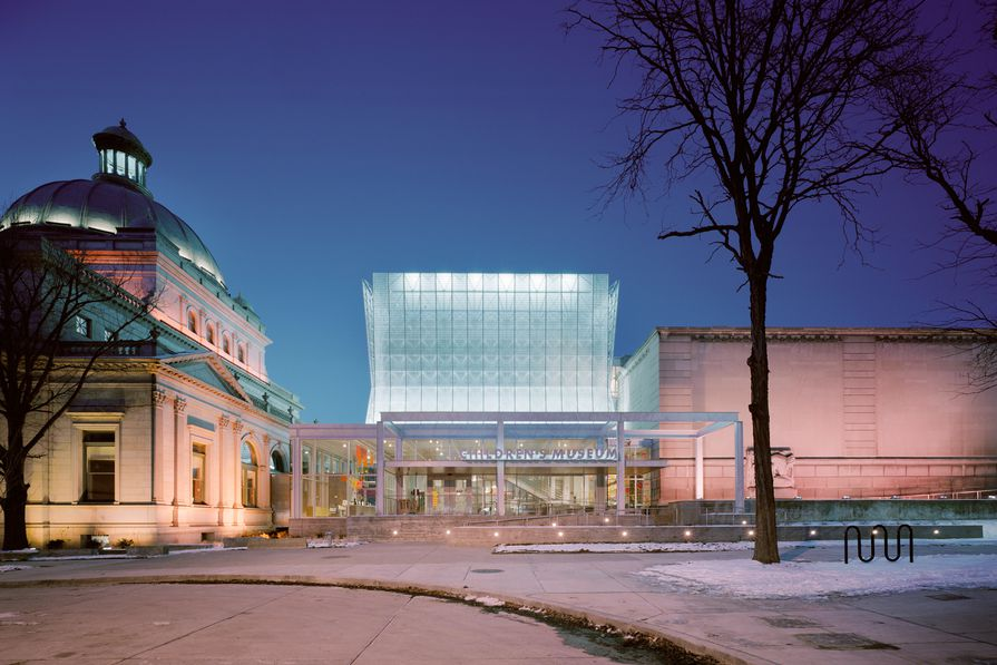 Children's Museum of Pittsburgh by Koning Eizenberg, 2004.