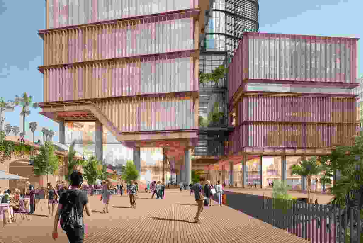 14 to 30 Lee Street Tech Centre by SOM, Hassell and Woods Bagot.