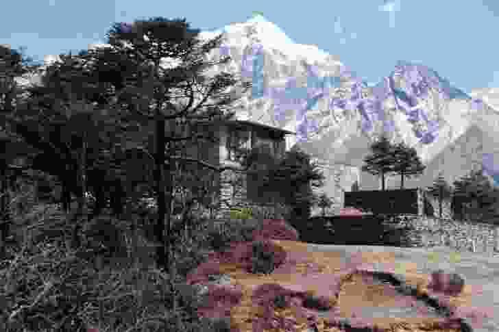 Hotel Everest View, Syangboche, Nepal.